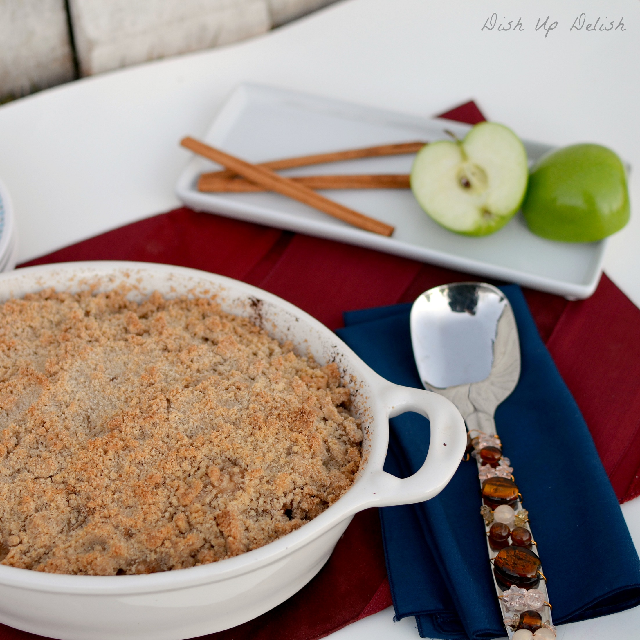 Apple Crisp Dish Up Delish
