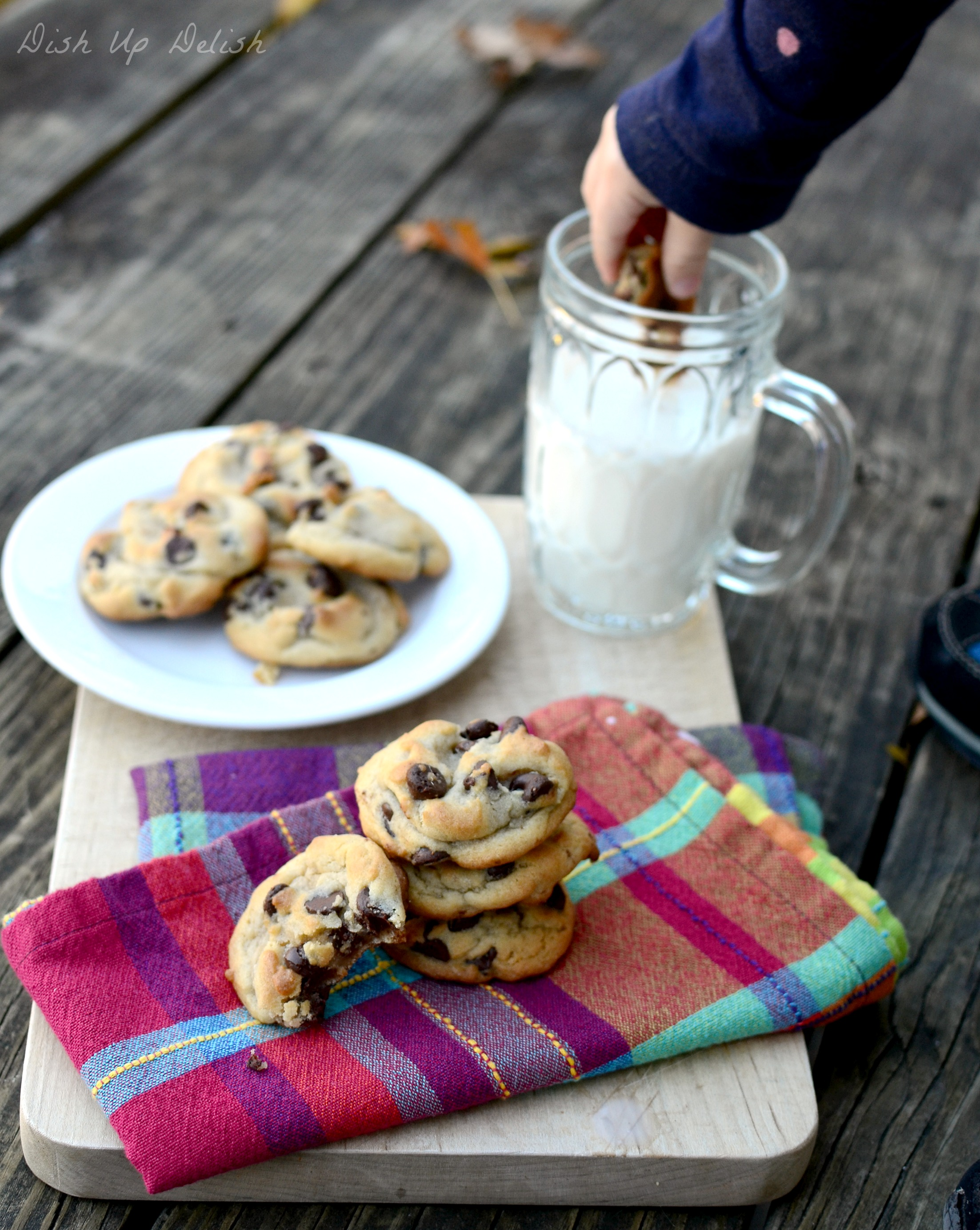 Chocolate Chip Cookies Dish Up Delish