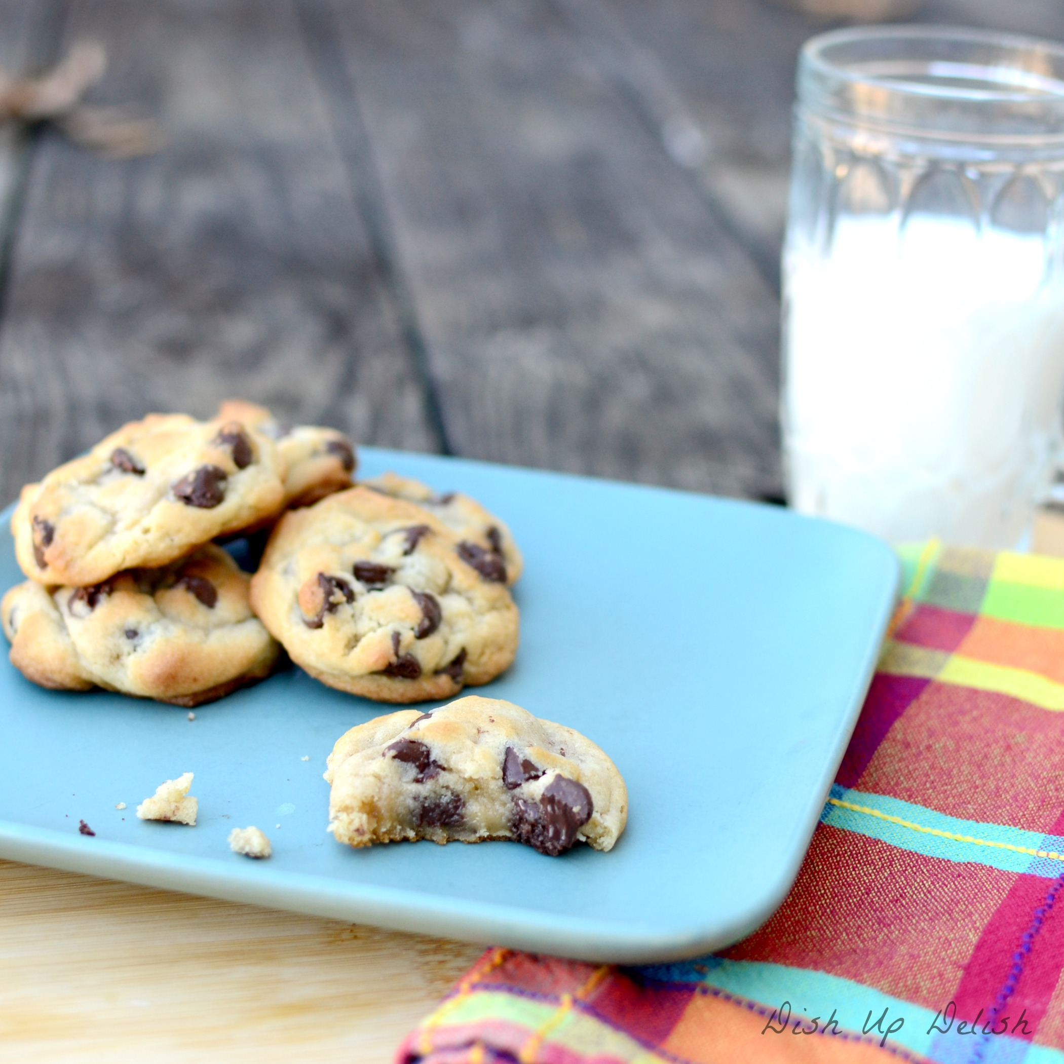 Soft and Gooey Chocolate Chip Cookies | Dish Up Delish