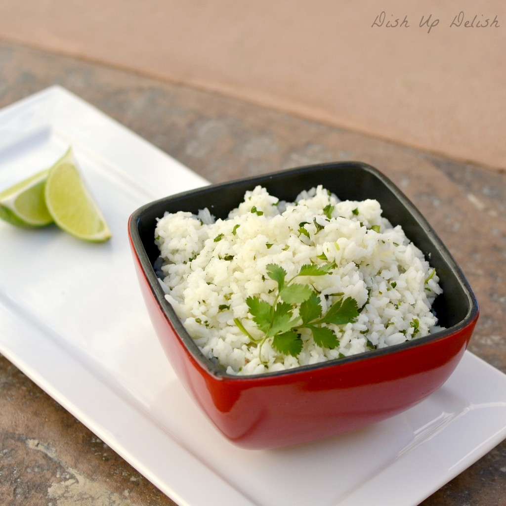 Cilantro Lime Rice Dish Up Delish