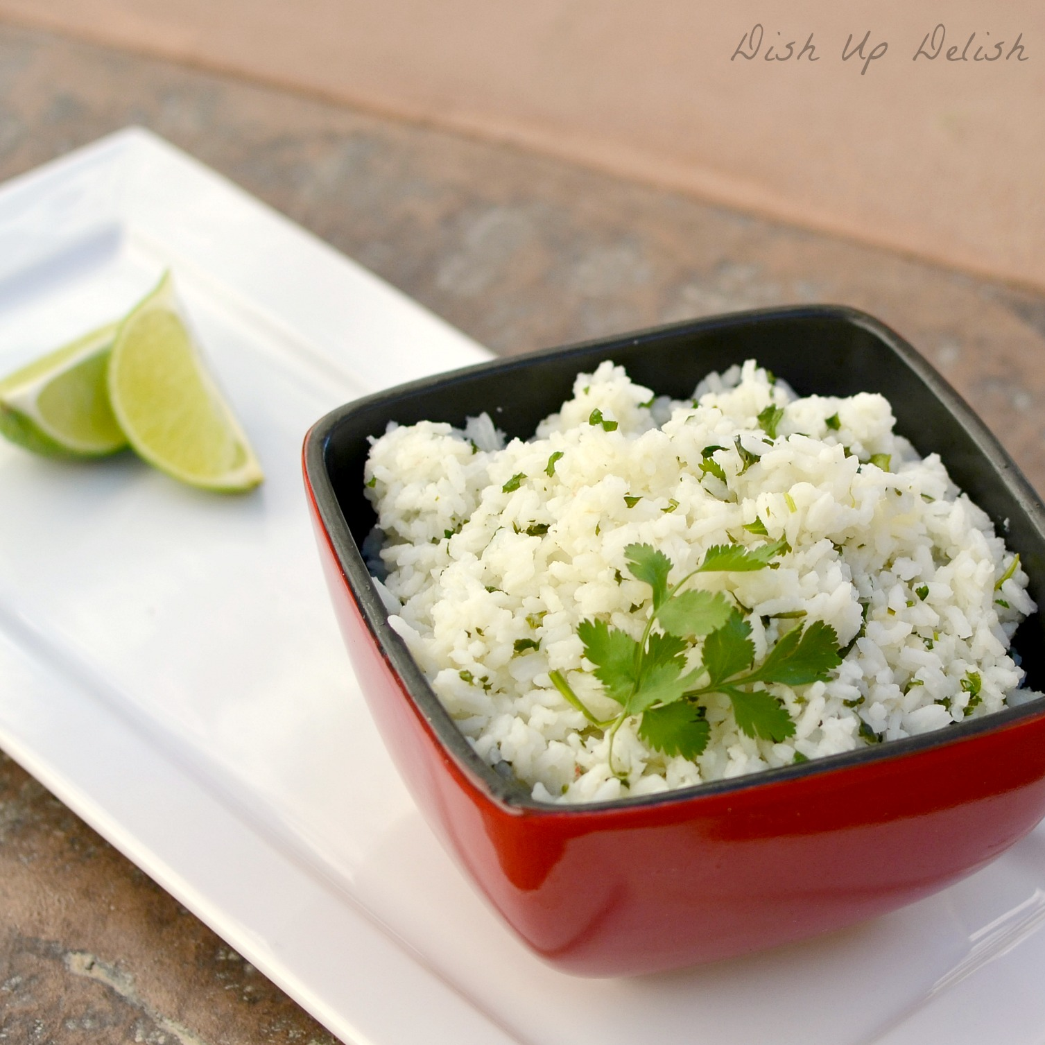 Cilantro Lime Rice from Dish Up Delish