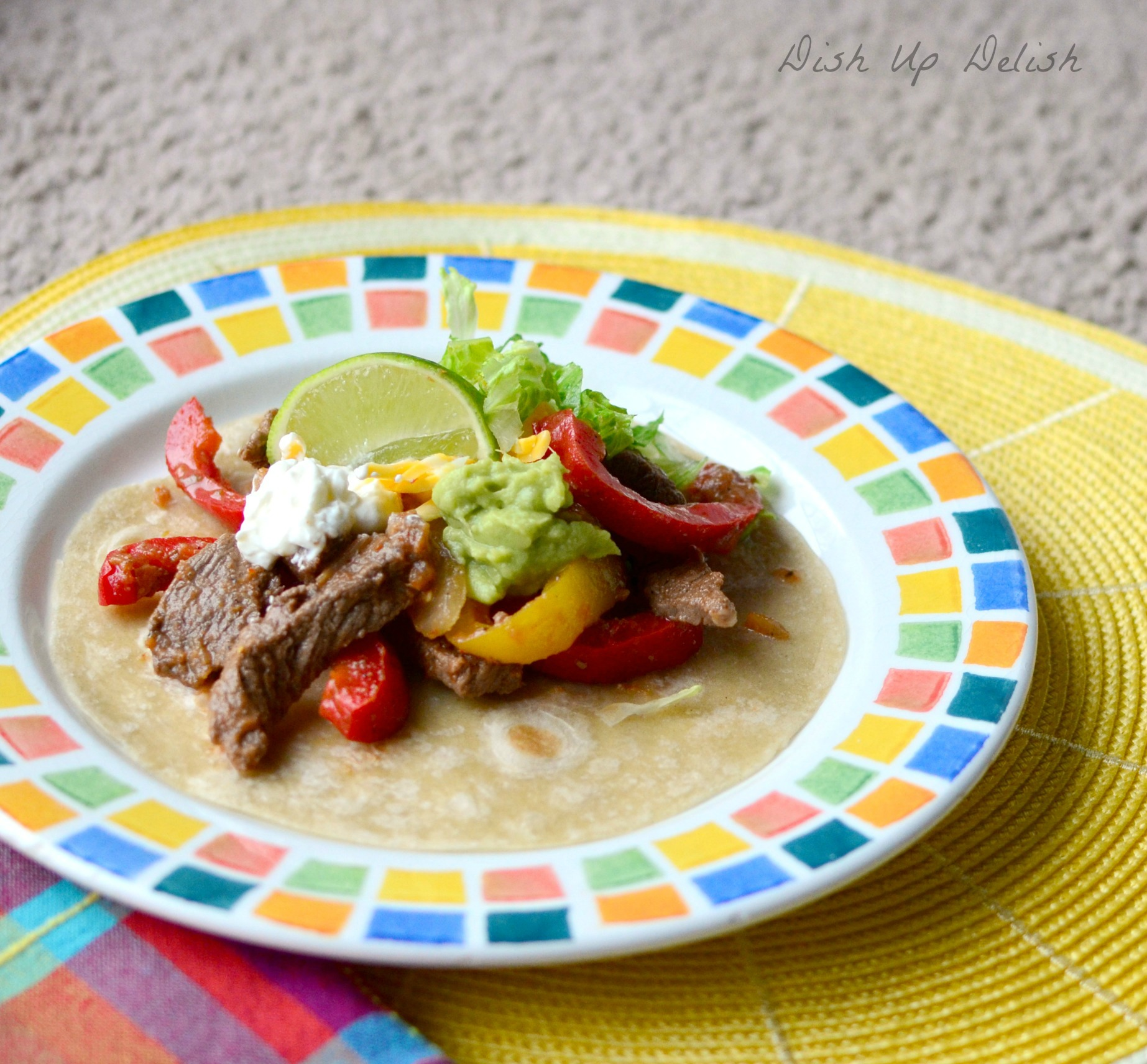 Marinated Steak Fajitas: Dish Up Delish