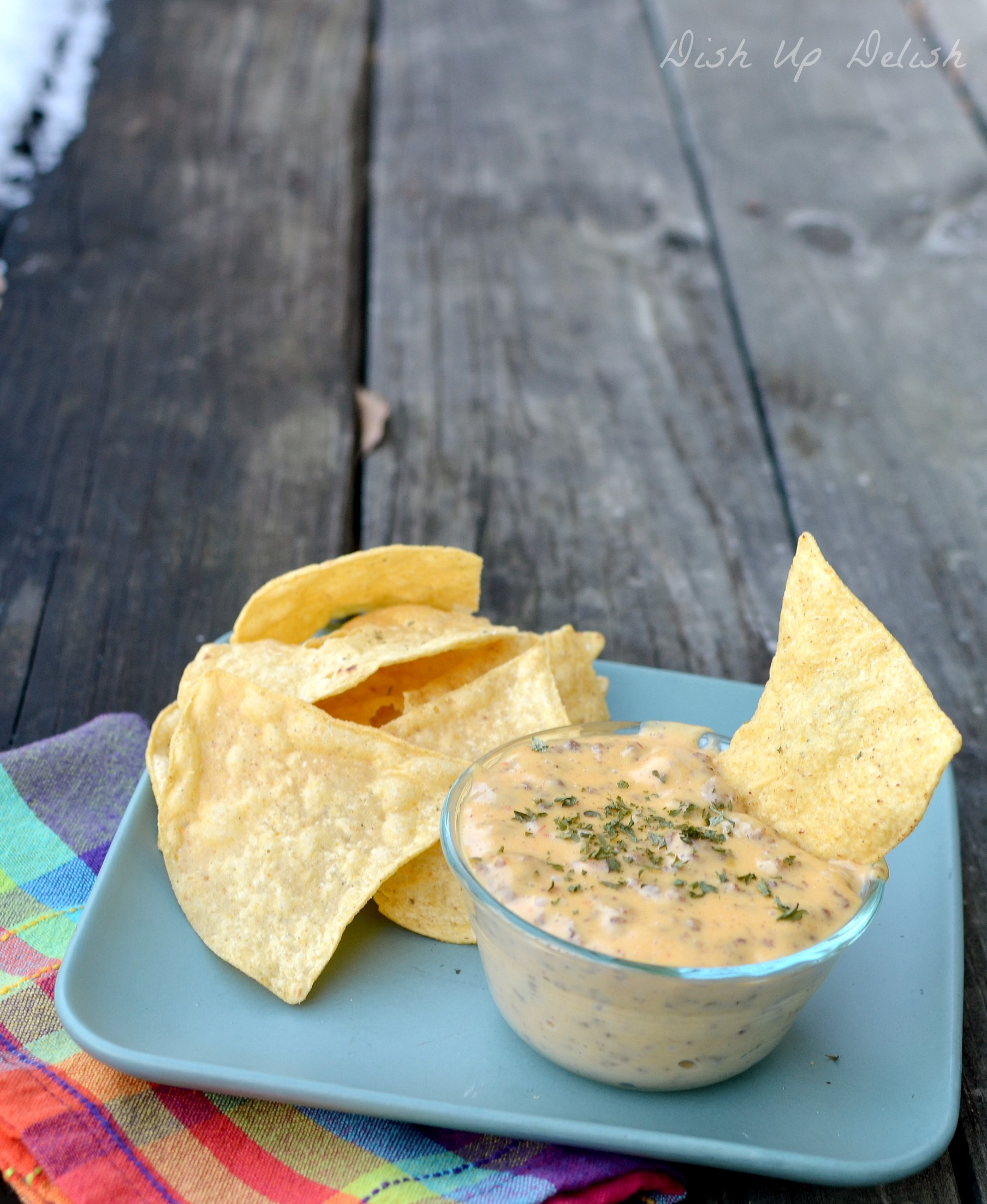 Meaty Queso Dish Up Delish