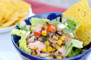 Mexi Quinoa Salad from Dish Up Delish