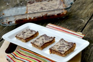 Peanut Butter Bars1 Dish Up Delish