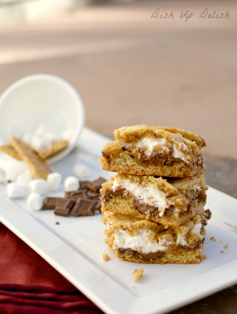 Smores Bars from Dish Up Delish
