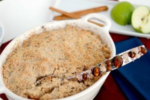 Yummy Apple Crisp Dish Up Delish
