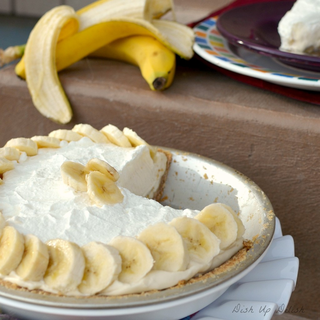 Banana Cream Pie from Dish Up Delish