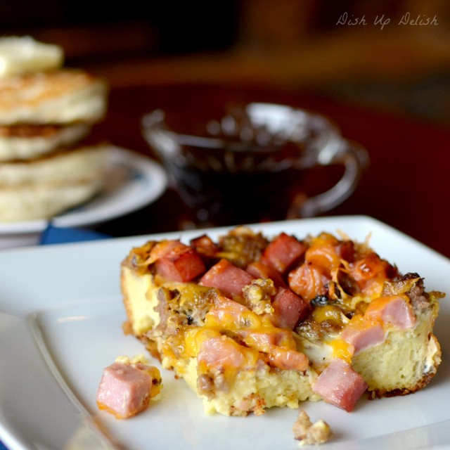 Breakfast Casserole from Dish Up Delish