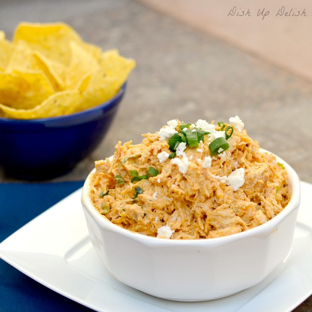 Buffalo Chicken Dip from Dish Up Delish