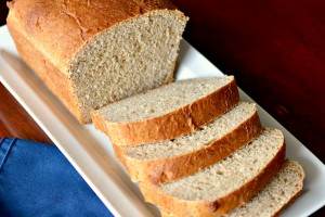 Honey Whole Wheat and Oat Bread from Dish Up Delish