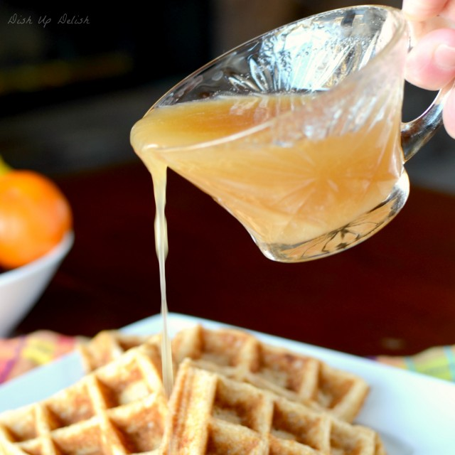 Buttermilk Syrup from Dish Up Delish