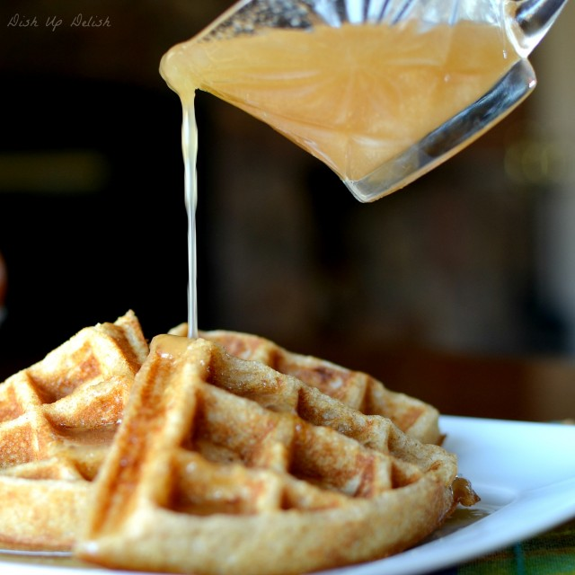 Buttermilk Syrup on Dish Up Delish