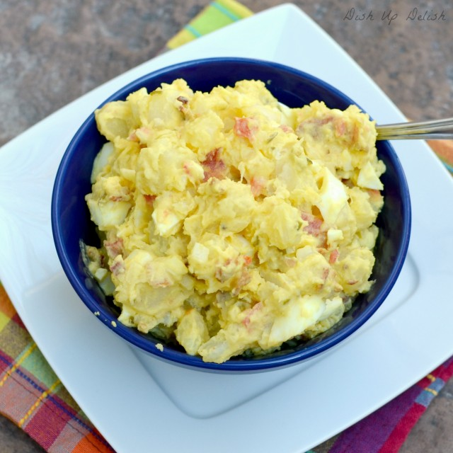 Papa Gille's Potato Salad from Dish Up Delish